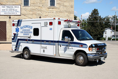SANDWIXH FPD AMBULANCE