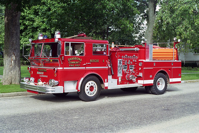 SHABBONA  RESCUE 8  1967 WLF  1250-750   X- DEKALB  ENGINE 1