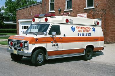 SHANNONA  AMBULANCE 1-I-19   1981 FORD E-350 - McCOY MILLER