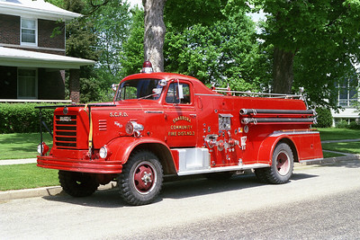 SHABBONA    ENGINE 3  1956  FWD - HOWE   500-750