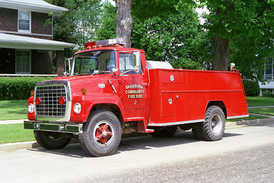 SHABBONA TANKER 2512   1979 FORD L-750 - FIREFIGHTER   350-1250