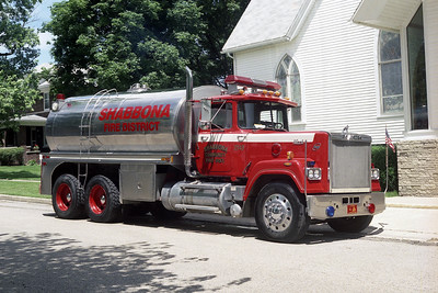 SHABBONA TANKER 2543 1985 MACK SUPERLINER  - WALKER TANK   0-3000