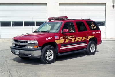 SYCAMORE  CAR 1  2001 CHEVY TAHOE