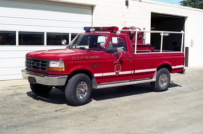 SYCAMORE  BRUSH 3  1991 FORD F250 - FD BUILT  125-170