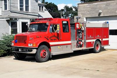 WATERMAN COMMUNITY FPD ENGINE 4  1993  IIHC 4900 - DARLEY   1250-1000   #1548