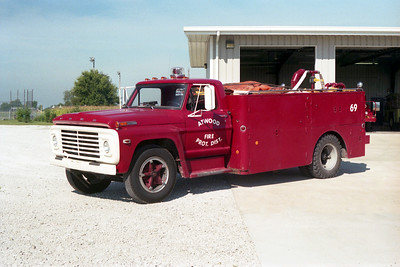 ATWOOD  TANKER 69  FORD F - FD BUILT