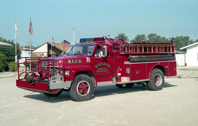 HINDSBORO  ENGINE 51  FORD F - ALEXIS