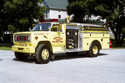 NEWMAN  ENGINE 1   CHEVY C60 - PIERCE