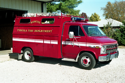 TUSCOLA RESCUE 95   CHEVY