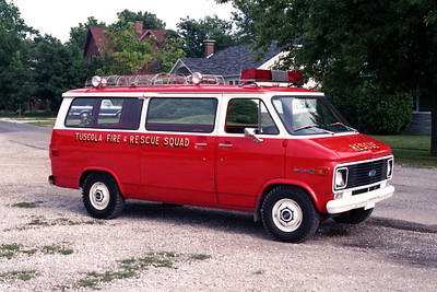 RESCUE SQUAD  CHEVY VAN