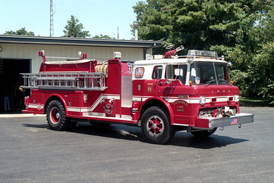 TUSCOLA ENGINE 91   FORD C - TOWERS