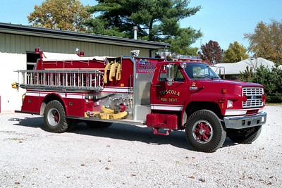TUSCOLA  ENGINE 92    FORD F - LUVERNE  OFFICERS SIDE