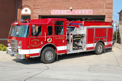 CLINTO FD  ENGINE 2005 PIERCE SABER  1250-1000   BILL FRICKER PHOTO