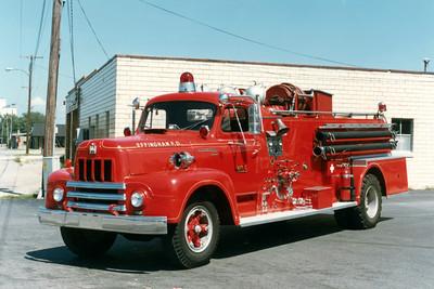 EFFINGHAM ENGINE 5  IHC R190 - CENTRAL ST LOUIS