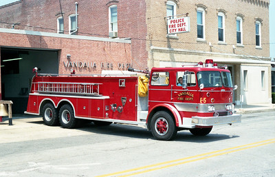 VANDALIA  ENGINE 5   1966 IHC - BRUCO   1000-2300  OFFICERS SIDE