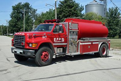 ELLIOTT  TANKER 337  1998 FORD F-800 - AMERICAN EAGLE  500-2000  SE-1922