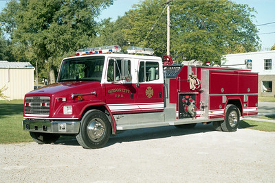 GIBSON CITY ENGINE 2  1995 FREIGHTLINER - FIREMASTER  1500-1000