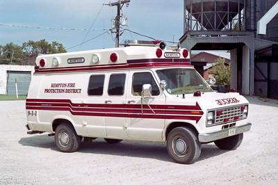 KEMPTON  RESCUE 1  1980 FORD E-350 - STARLINE