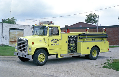 KEMPTON  ENGINE 1   1975 FORD L700 - DARLEY  750-900