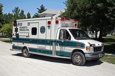 ROBERTS MELVIN  RESCUE 4  1993 FORD E350 - MEDTEC   #94060