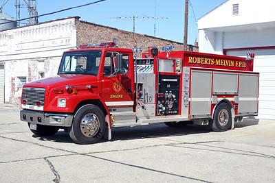 ROBERTS MELVIN ENGINE 3 2001 FREIGHTLINER FL-80 - DARLEY  1500-1000  #2370