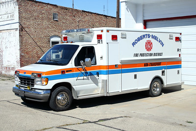 ROBERTS MELVIN  RESCUE 1  1992 FORD E-350 - LIFE LINE