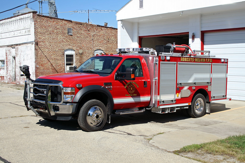 ROBERTS-MELVIN FPD ATTACK 4  2010 FORD F-550 - ROCKET FIRE  300-500