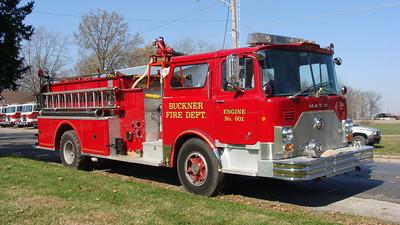 BUCKNER ENGINE 610  MACK CF