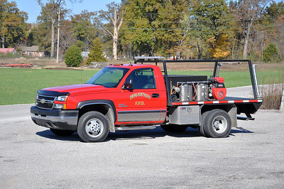 EWING-NORTHERN FPD  BRUSH  2006  CHEVY - FD BUILT   60-300     RYAN BROTHERS PHOTO