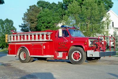 AVON  ENGINE 2  1985 CHEVY C60 - ALEXIS  750-1000    #1354
