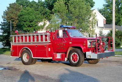AVON  ENGINE 3  1981 CHEVY C70 - ALEXIS   750-750   #1284