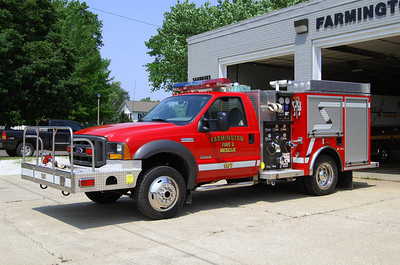 FARMINGTON FPD  ENG 1107  2005 FORD F-550 - ALEXIS 500-400  #1901   BILL FRICKER PHOTO