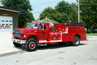 SHAWNEETOWN FD  ENGINE 3  FORD F - TOWERS