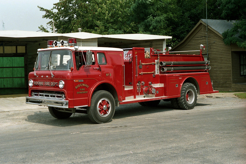 RIDGWAY ENGINE 3  FORD C -TOWERS