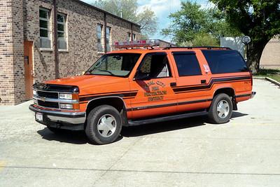 COAL CITY FPD  CAR 3190  1998  CHEVY SUBURBAN 1500