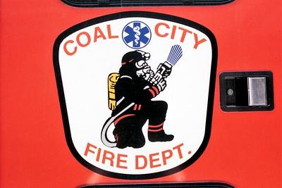 COAL CITY FPD DOOR LOGO