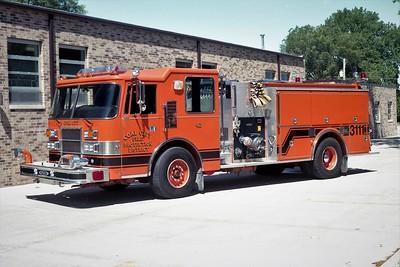 COAL CITY FPD  ENGINE 42 (3111)  1993  PIERCE DASH   1250-1000-30F   E-7481