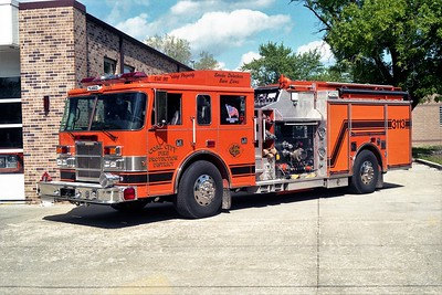 COAL CITY FPD  ENGINE 3113  2002 PIERCE DASH 2000-900-30A-20B     #11221