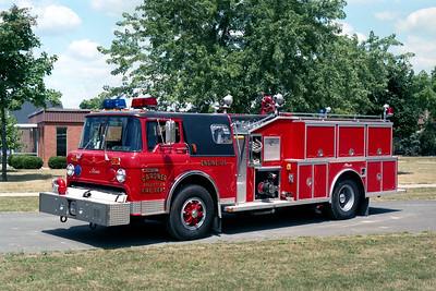 GARDNER FPD  ENGINE 126  1987  FORD C800 - ALEXIS   1000-1000