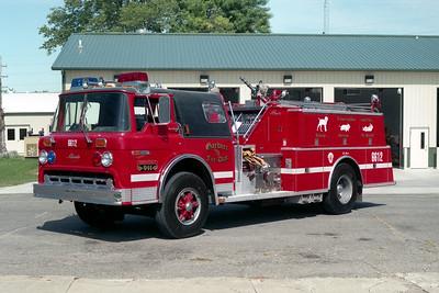 GARDNER FPD  ENGINE 6612 1979  FORD C8000 - ALEXIS   1000-750   #1239