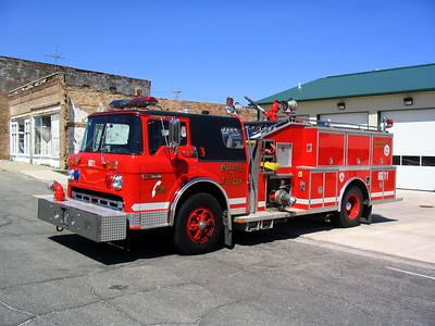 GARDNER FPD  ENGINE 6611  1987  FORD C8000 - ALEXIS   1000-1000   #1422
