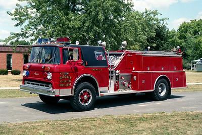 GARDNER FPD  ENGINE 125  1980  FORD C800 - ALEXIS   1000-750