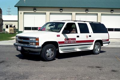 GARDNER FPD  CAR 6690  1995  CHEVY SUBURBAN 1500