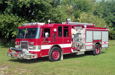 MINOOKA  ENGINE 1312  PIERCE DASH