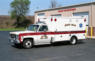 MINOOKA  AMBULANCE 1315   CHEVY - HORTON