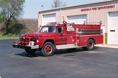 MINOOKA  ENGINE 1312  1978 FORD F800 - AMERICAN   750-750