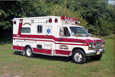 MINOOKA  AMBULANCE 1314  FORD E -   PASSENGER SIDE