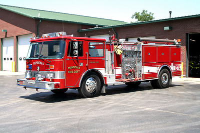 MINOOKA  ENGINE 1311  PIERCE ARROW  WHITE STRIPE
