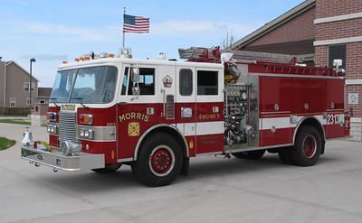 Morris Fire Rescue Eng  2313 Pierce
