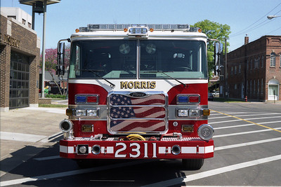 MORRIS FPD  ENGINE 2311 FRONT VIEW
